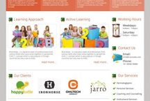 Website Design   / Showcasing our web design work. Usually done for client requests.