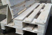 palettenstyle + Holz und Stahlideen