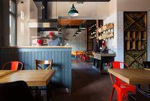 Wnętrza publiczne - restauracje | Restaurants and bar