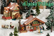 Department 56 - Alpine Village / Open the door to Alpine Village. The intricately detailed lighted buildings and accessories of this series are as unique and diverse as the towns and hamlets in the Bavarian regions they represent.