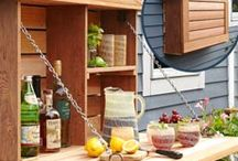 garden kitchenette