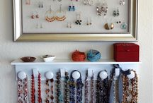 diy jewelry organizer and other ideas