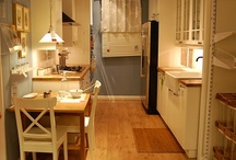 Love that KITCHEN! / Kitchens are the heart of of your home! They should feel like a beautiful space for cooking, function extremely well and invite family participation.