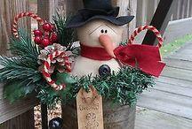 Primitieve kerst