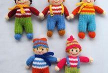 pletené bábiky