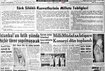 Eski gazete ,reklam ve afişler