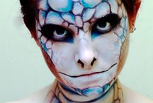 make up art costume / Make up art # face painting # masquer # costume