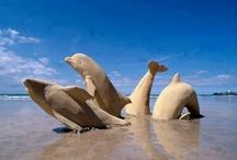 Sand scultures