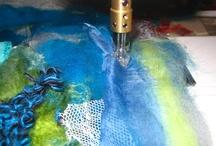 Mixed media, textiles, watercolours etc.