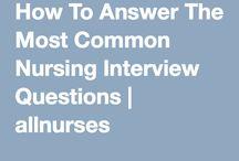 Nursing Interviews