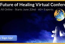 "Future Of Healing / I'm excited to share with you about a great upcoming event:The Future of Healing Online Conference.  This will be the largest online conference of its kind, with interviews that are honest, in depth, edgy, information rich, and designed to give you some new inspirations and ""aha"" moments."