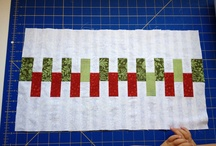 Christmas in July Block A Thon / http://freespiritfabric.blogspot.com/ / by Angela Greenwald