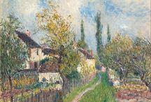 Alfred Sisley / English