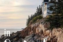 Travel Bucket List - Bar Harbor & Acadia National Park, Maine / What is on your travel bucket list? This board is a collection of pins on what to do, where to stay, what to eat, places to see in Bar Harbor & Acadia National Park, Maine.