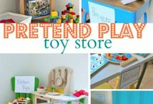 clothes and toy store theme