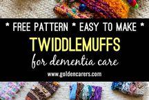 Dementia Twiddle Muffs.