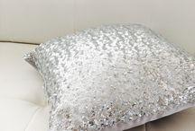 My sequins pillows .