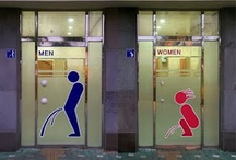 Travel Humor: Bathroom signs / Not all bathroom signs are created equal.