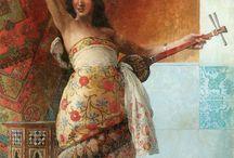 Painting Orientalism Dancer