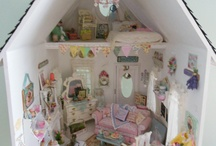 Minis' , Dollhouse, shadow boxes / Small things, ideas for doll houses and shadow boxes / by Tammy McGhee
