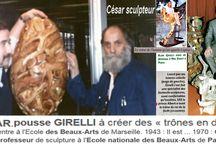 histoire de trône avec César (sculpteur) — / César Sculpteur César Baldaccini, dit César, est un sculpteur français, né le 1ᵉʳ janvier 1921 à Marseille et mort le 6 décembre 1998 à Paris. Il fait partie des membres des Nouveaux réalistes, mouvement né en 1960. Wikipédia