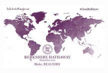 Global Initiative / Berkshire Hathaway HomeServices Blake Realtors goes global.