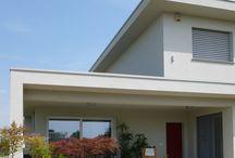Villa moderna a Calvenzano (BG) / villa moderna in legno