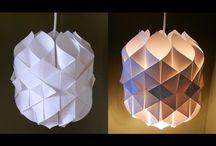 Papír lámpa