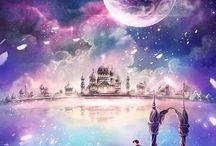 Univers magique / Ces images m'ont fait rêver et voyager... Je voudrais les partager avec vous ...
