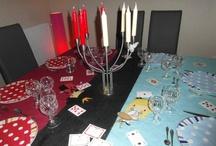 Alice VS La Reine Rouge / Decoration nouvel an 2013