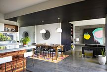 Styling with concrete floors