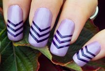 Nail Art / Nail art created with the smART nails stencils
