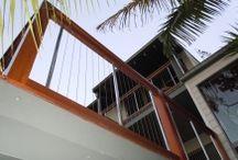 Balustrade and fence