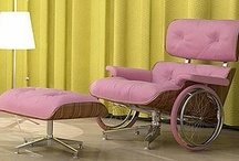 Pink Chairs, Benches, Stools, Sofas (Seating Furniture)