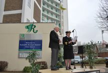 Commonwealth Day 2015 / On Commonwealth Day - 9 March 2015 - Rushcliffe's Mayor and Commander Judith Swann raised the Commonwealth Flag at the Rushcliffe Borough Council Civic Centre