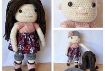 Stuffed dolls/animals
