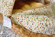 Quilting bread basket
