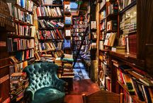 Bookshops and libraries / Wonderful places to browse and buy books