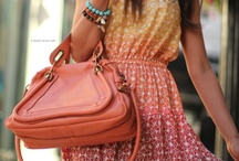 Purses...and Satchels...and Handbags...oh my! / Purses...they always fit! ;) / by Kate Brown