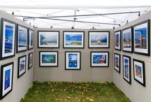 Art fair display