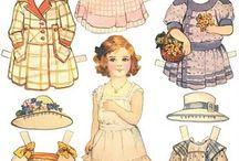 Paper Dolls & Images