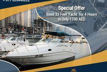 Special Offers / Get discounted rates on booking a yacht for 4 hours. Visit http://cozmoyachts.com to reserve your deal