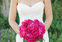 Wedding Magenta, Tangerine and Aqua