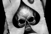 Tetovanie lebka
