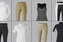 Riding Clothes in Blacks, Tans, + Greys / Create your own novel combinations from classic colors. #ridingtightsandbreeches #showclothes #traditionalshowclothes