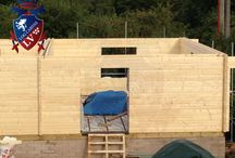 Glulam Classrooms- Educational Buildings- Temporary Classrooms / If you are looking for quality Glulam log Cabin, log cabins, educational buildings, garden offices, garages, residential cabins, classrooms, equestrian centres etc. Log Cabins LV is the number one in Europe for design and price.