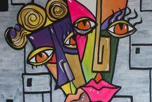 My Painting Works / Schilderijen & aanverwanten