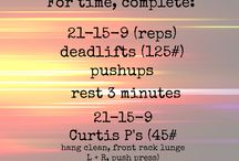 Cross Fit Style Workouts