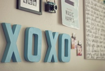 DIY Wall Decor / Make a wall pop with color!