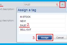 Product tags / You can add to product various labels e.g.: New!, Sale!, In stock,...http://www.bizwebs.com/a/668